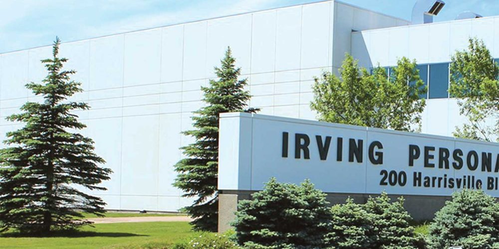 Irving Personal Care's park location is strategic