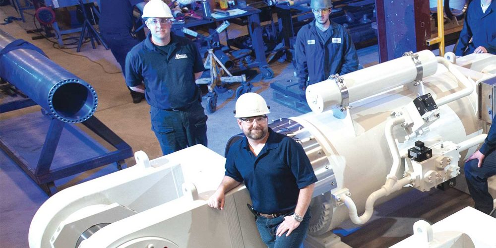 Maritime Hydraulic benefits from convenience of having park location