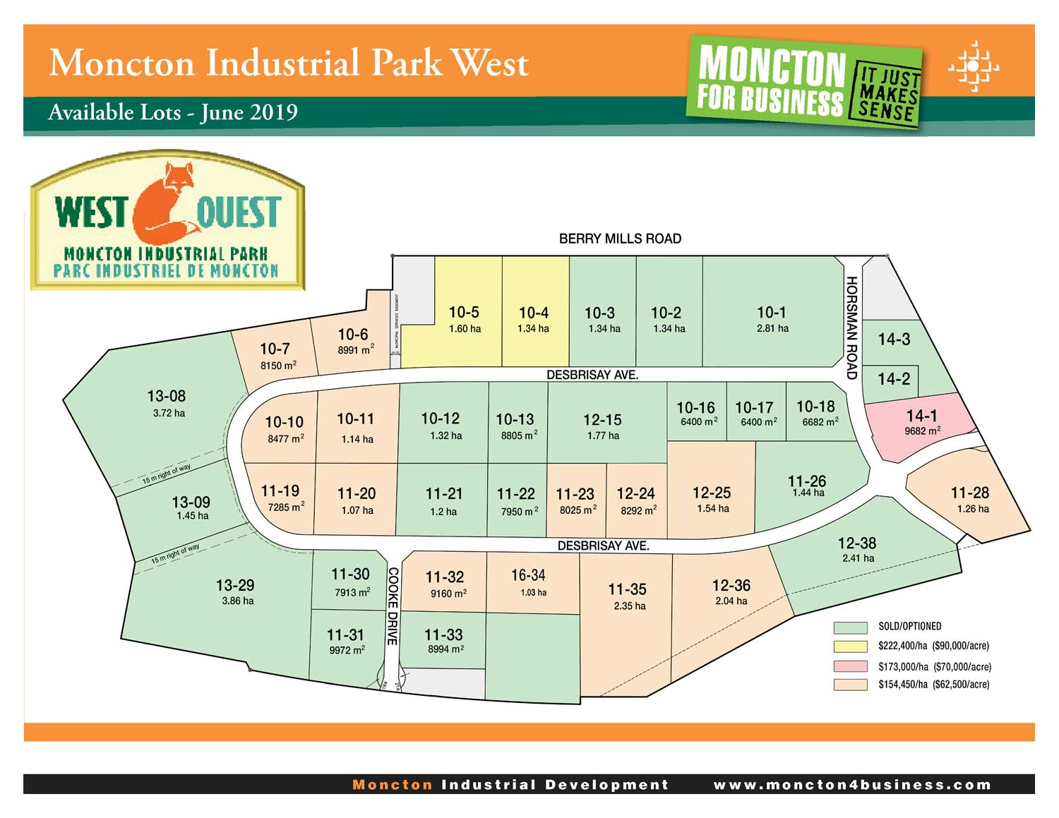 Moncton Industrial Park West